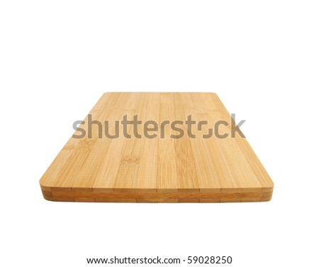Cutting board isolated on a white background #59028250