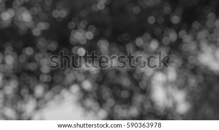 Black and white Bokeh abstract for background textures #590363978