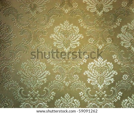 light Brown tone Damask style wallpaper Pattern background