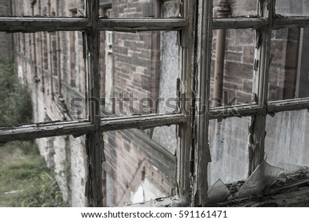 abandoned building. abandoned hospital #591161471