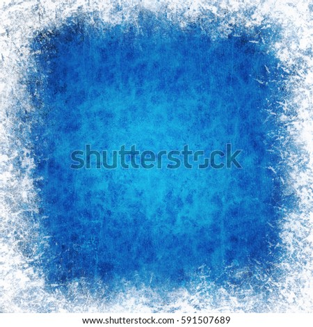 Grunge blue wall background or texture #591507689