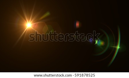abstract of sun with flare. natural background with lights and sunshine wallpaper (High quality) #591878525
