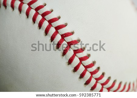 Baseball texture background.