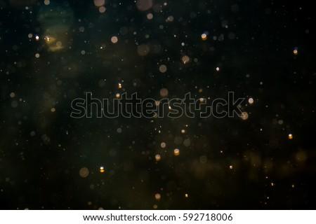 Blur bokeh of light on black background #592718006