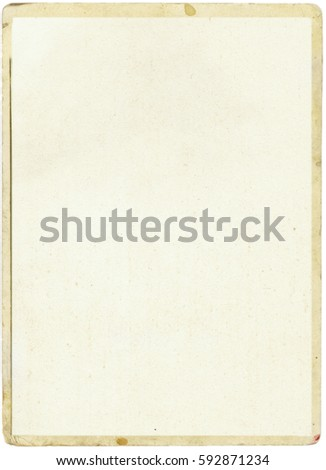 brown empty old vintage paper background. Paper texture #592871234