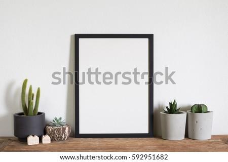 mock up frame  photo #592951682