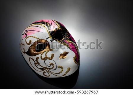 Opera mask, Vintage mask. #593267969