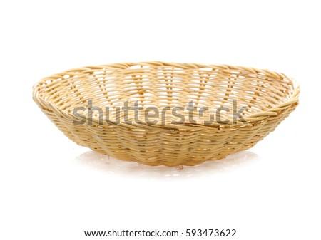 basket isolated on white background #593473622