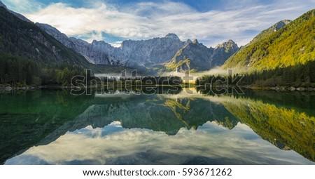 Mountain lake #593671262