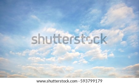 cloudy sky Royalty-Free Stock Photo #593799179