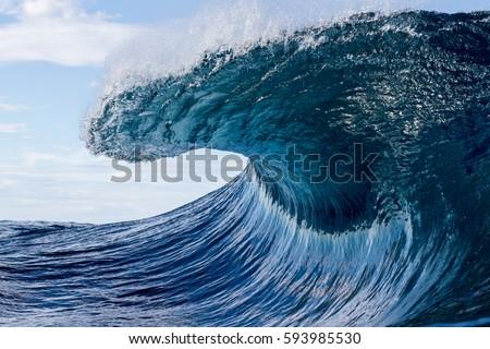peaking wave  #593985530