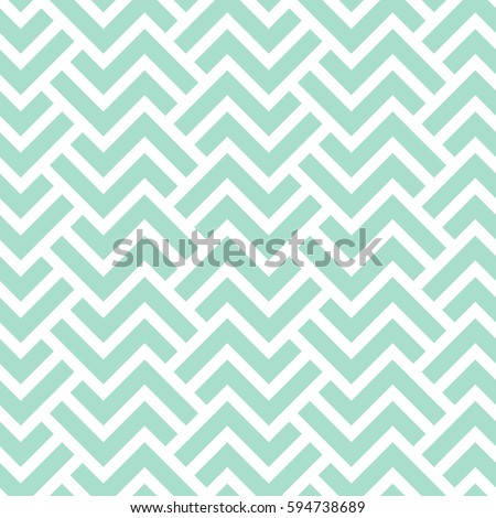 The geometric pattern with stripes . Seamless vector background. Green and white texture. Graphic modern pattern. Royalty-Free Stock Photo #594738689
