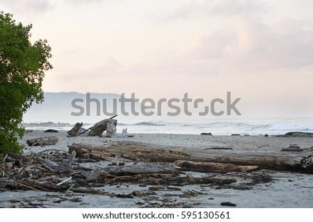 On the beach of Santa teresa 3 #595130561