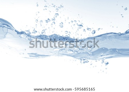 Water,water splash isolated on white background #595685165