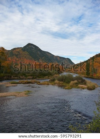 Jacques-Cartier river #595793291
