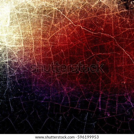 Grunge multicolor texture with cracks #596199953