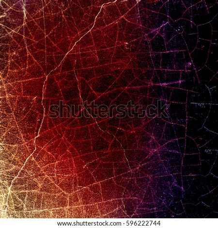 Grunge multicolor texture with cracks #596222744