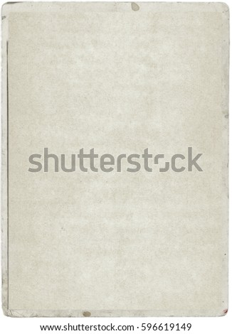 white empty old vintage paper background. Paper texture #596619149