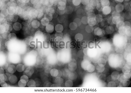 abstract Black and white bokeh background #596734466