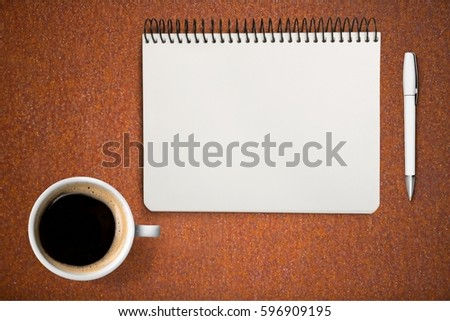 Spiral notebook. #596909195