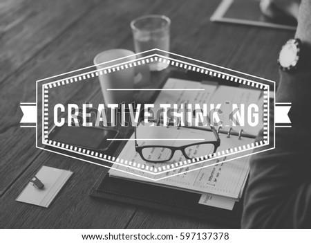 Creative Thinking Ideas Innovation Word #597137378