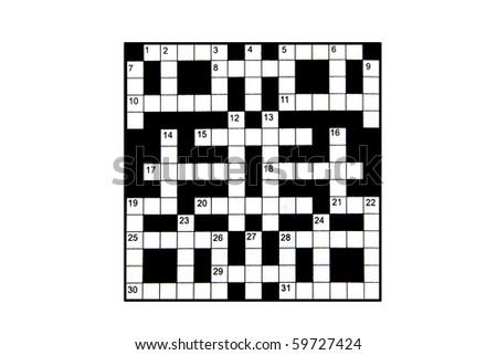 blank crossword #59727424