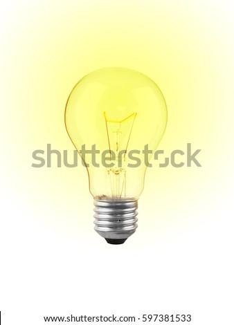 Light bulb. #597381533