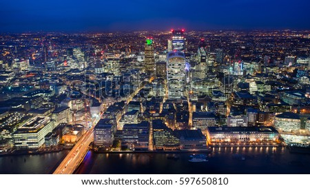 Business office building in London, England #597650810