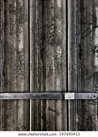 Iron beam with belt #597690413