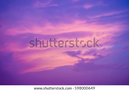 fantasy sky purple cloud and sky  dramatic color background #598000649
