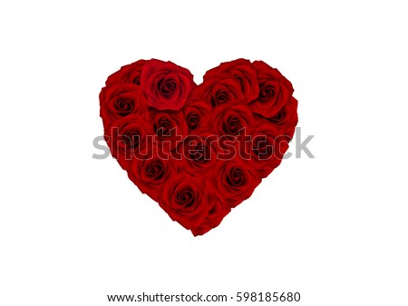 heart, rose heart, love, gift         #598185680