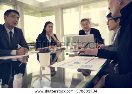 Business Discussion Meeting Presentation Briefing #598681904
