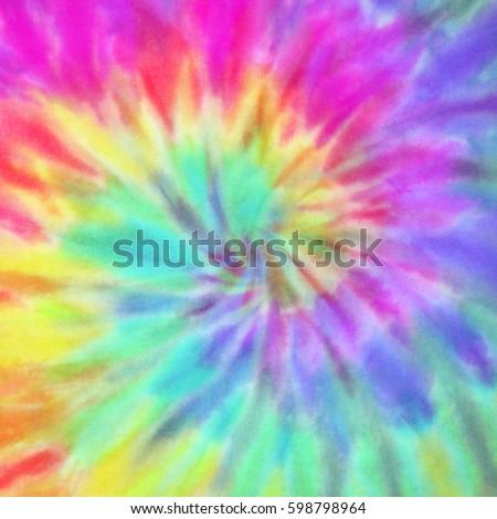 Vibrant Summer Tie Dye Design #598798964