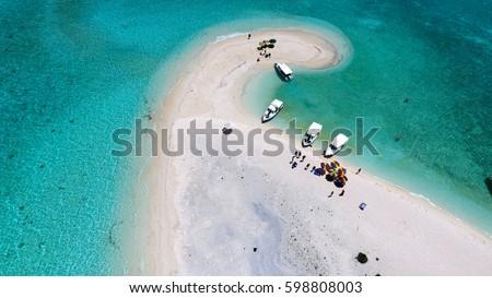 Maldives aerial view #598808003