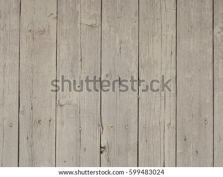Rough vintage weathered white painted wood texture. #599483024