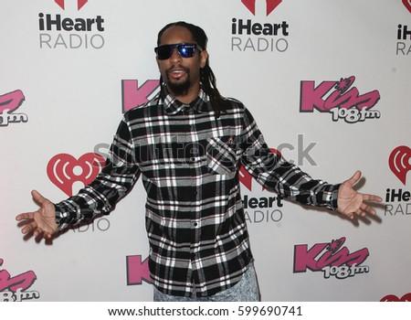 BOSTON-DEC 14: Rapper Lil Jon attends KISS 108's Jingle Ball 2014 at TD Garden on December 14, 2014 in Boston. #599690741