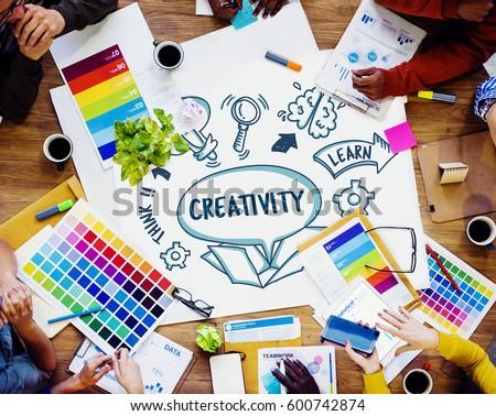 Ideas Outside Box Brainstorm Sketch Concept #600742874