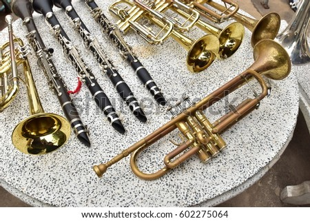 musical instrument Royalty-Free Stock Photo #602275064