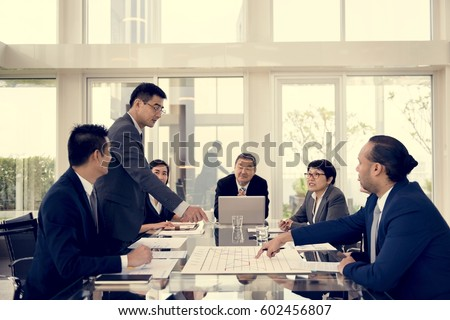 Business Discussion Meeting Presentation Briefing #602456807