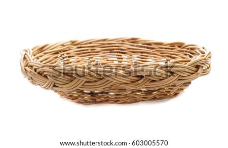 basket isolated on white background #603005570