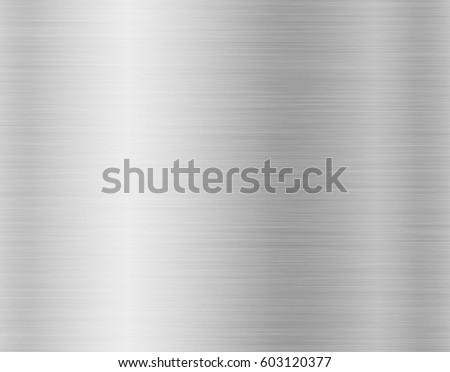 metal, stainless steel texture background with reflection #603120377