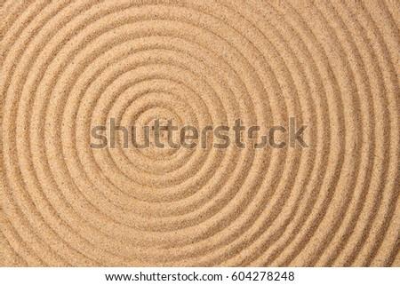 Zen and sand