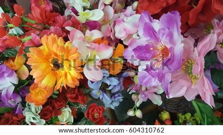 plastic flower #604310762