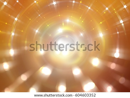 Abstract gold background. Explosion star. illustration digital #604603352