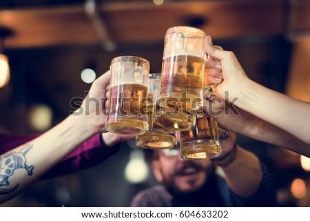 Craft Beer Booze Brew Alcohol Celebrate Refreshment #604633202