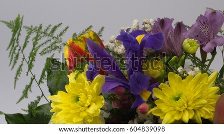 Spring bouquet #604839098