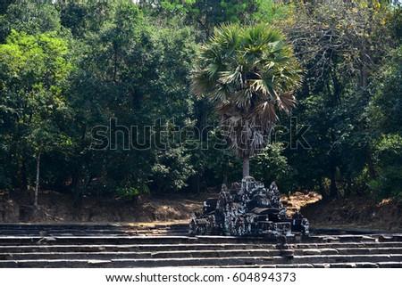 Temple of Angkor Cambodia #604894373