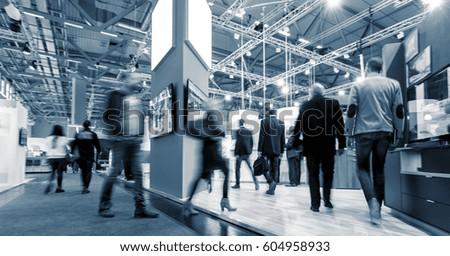 Big trade fair Royalty-Free Stock Photo #604958933