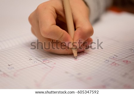Hands that read and write. #605347592