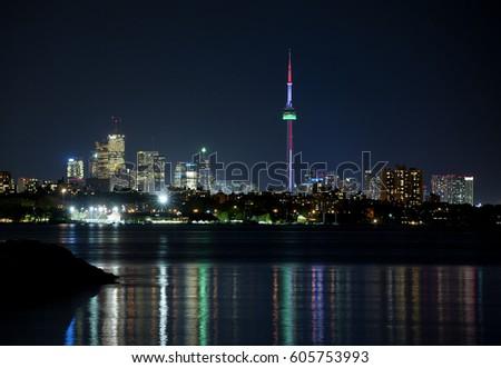 Toronto at night #605753993